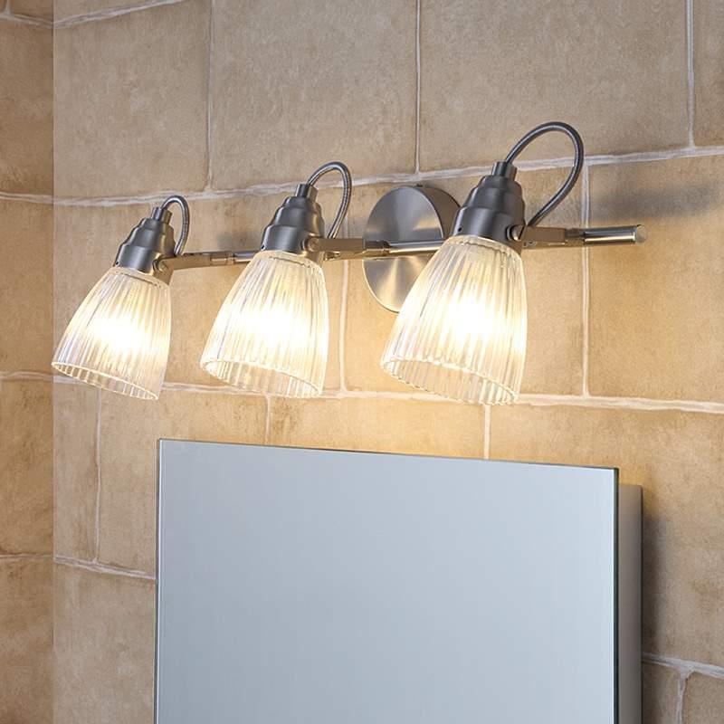 3-lamps badkamer-plafondlamp Kara met G9-LED