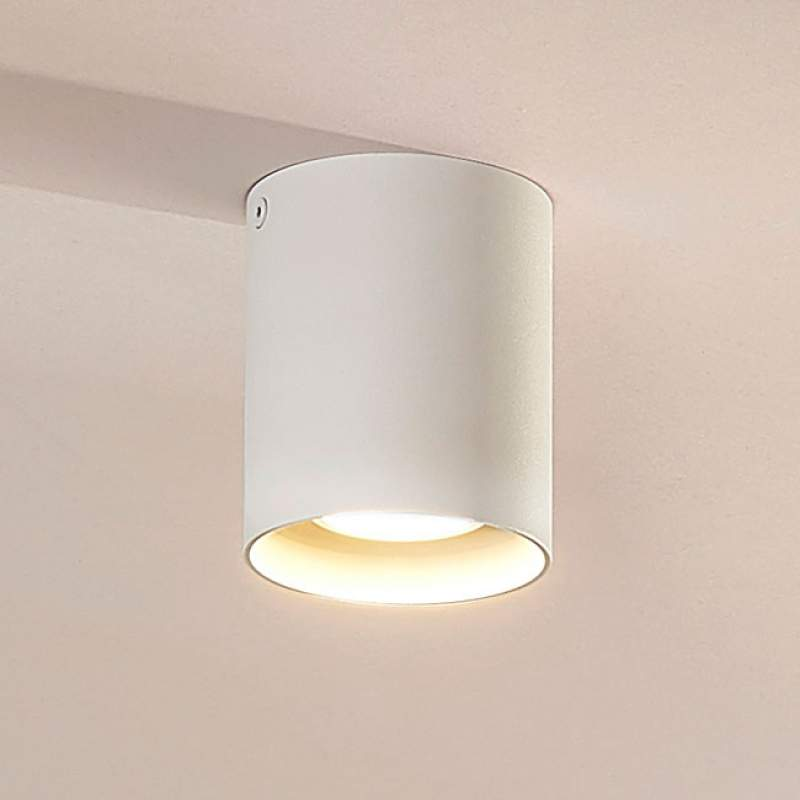 Opbouw-downlight Carson in wit