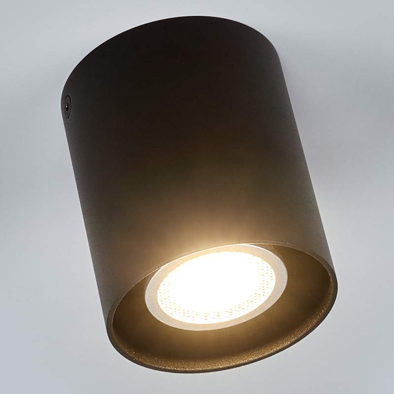 Zwarte plafondlamp Carson