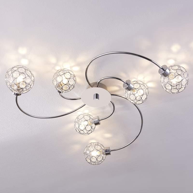 Decoratieve LED-plafondlamp Tyron