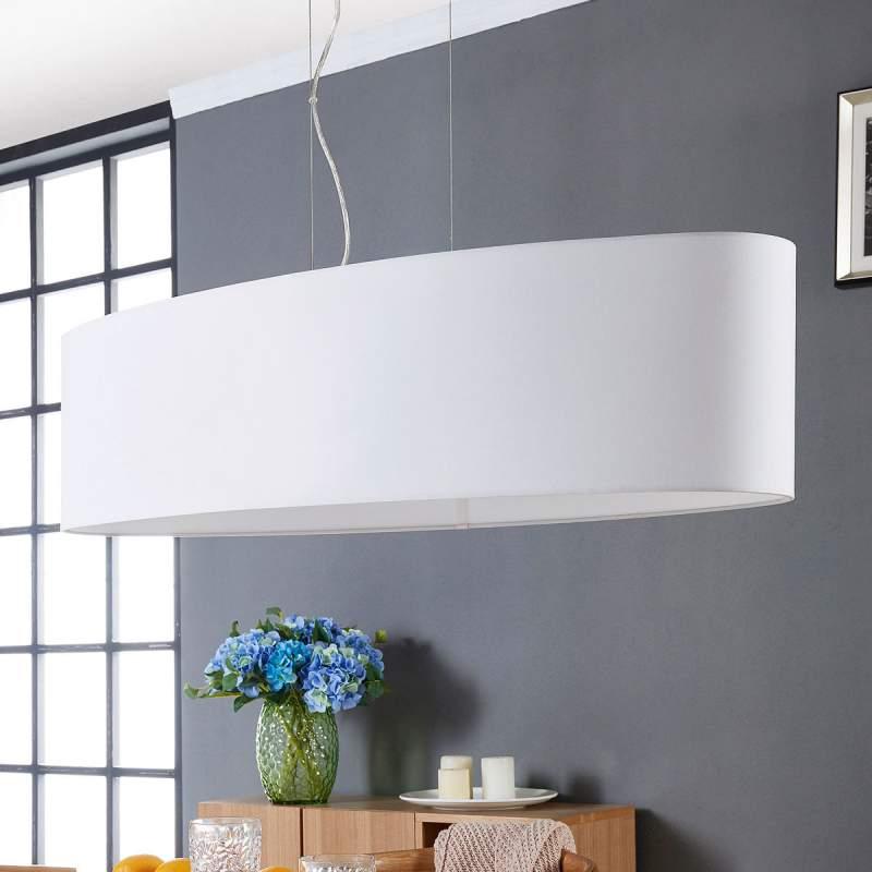 Hanglamp Fjonni in het wit
