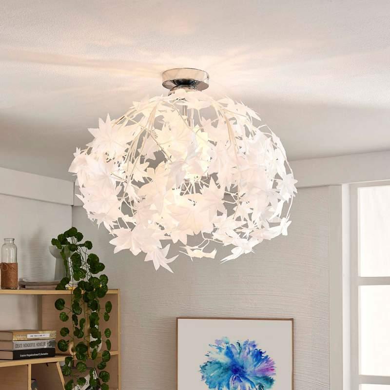 Maple - plafondlamp met bladmotief
