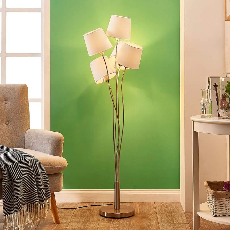 Sharon - vloerlamp met textiele kappen