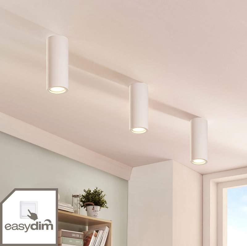 Gips downlight Annelies met easydim LED lamp
