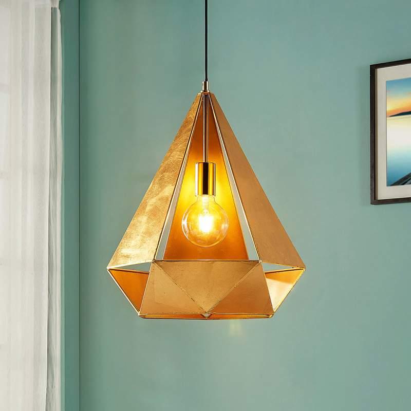Extravagante hanglamp Juliet in goud