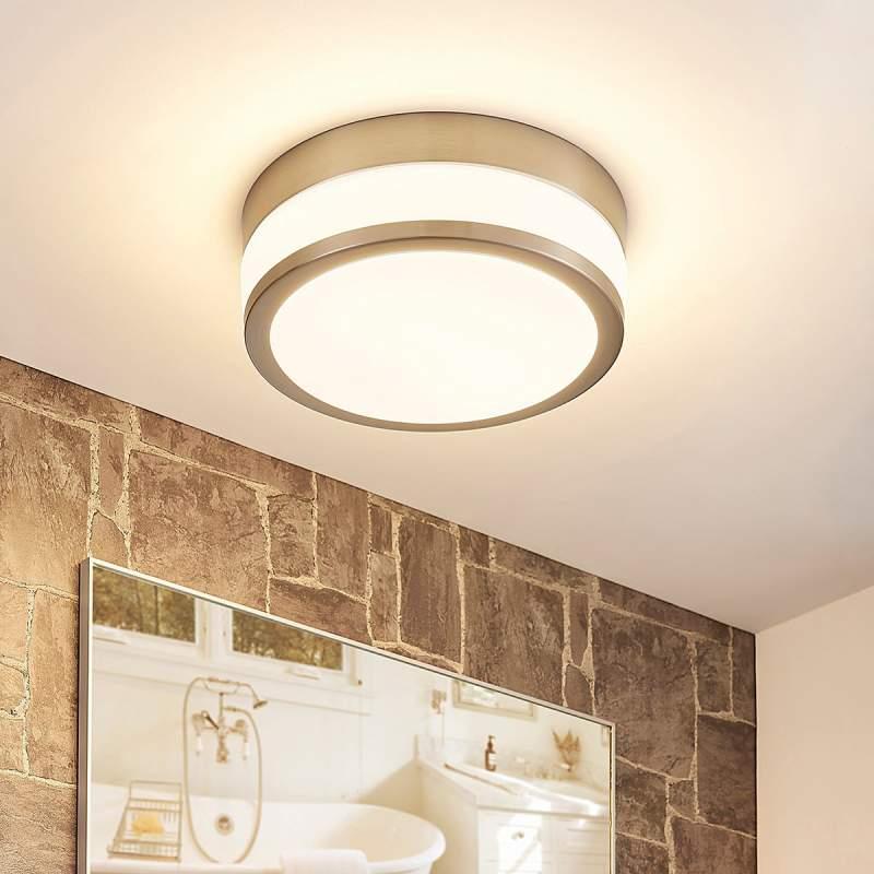 Vochtbestendige LED plafondlamp Luanna