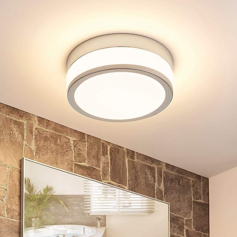 LED plafondlamp Luanna, IP44 rond