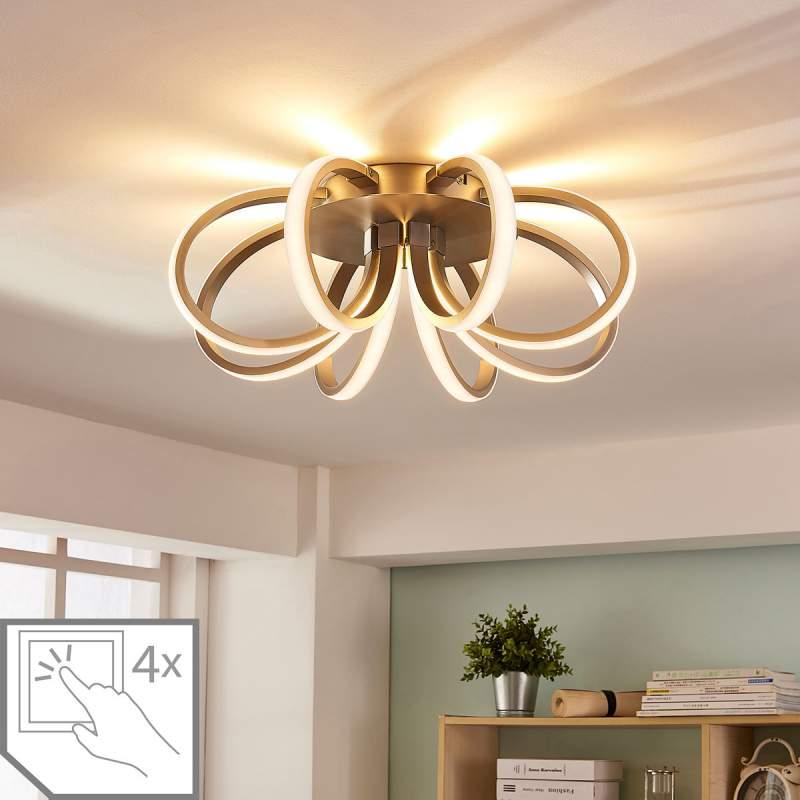 Bloemvormige LED plafondlamp Vada
