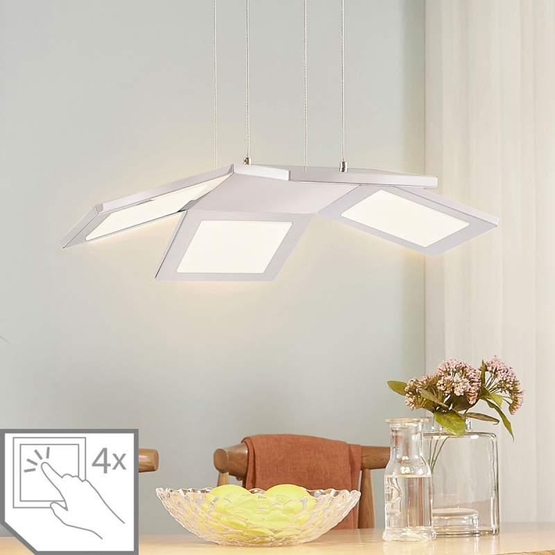 LED hanglamp Luciano met vier lampjes