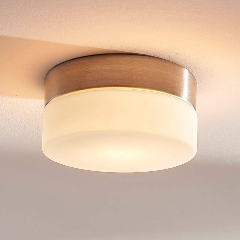 Ronde badkamerplafondlamp Amilia