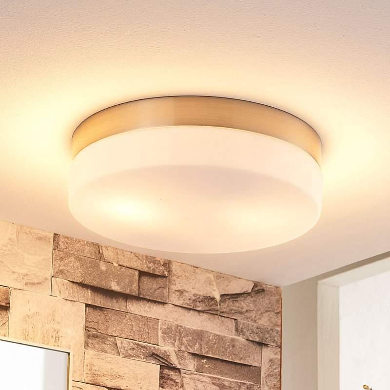 Ronde plafondlamp Amilia, IP44