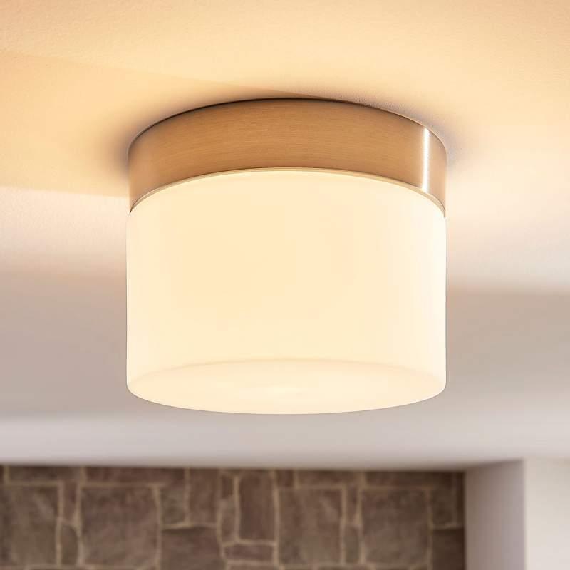 Compacte LED plafondlamp Miguel voor de badkamer