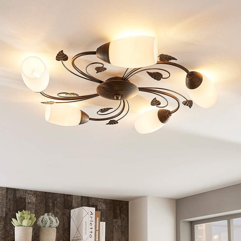 Stefania - elegante plafondlamp met easydim-LED