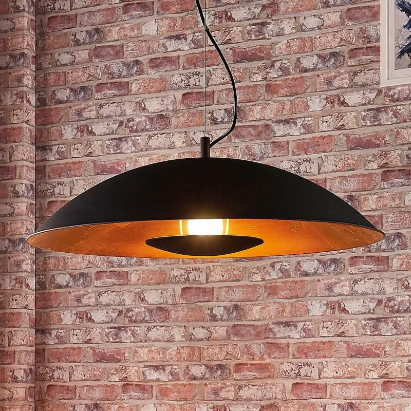 Indirect verlichtende hanglamp Emilienne