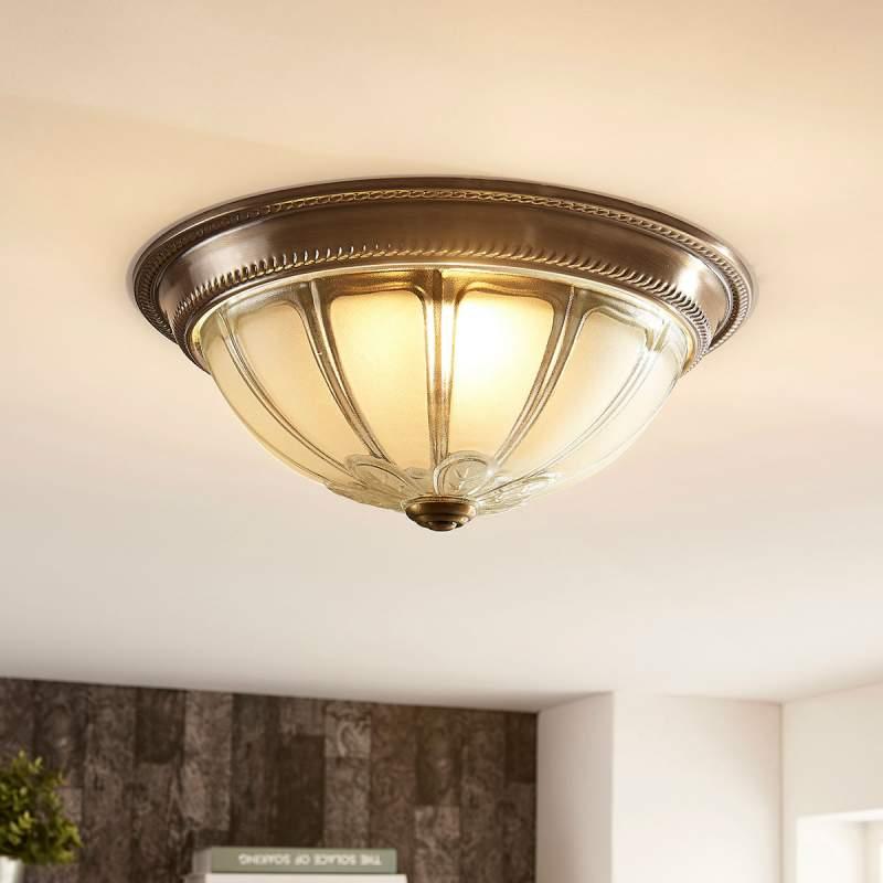 Ronde LED plafondlamp Henja, 4 fasen dimbaar