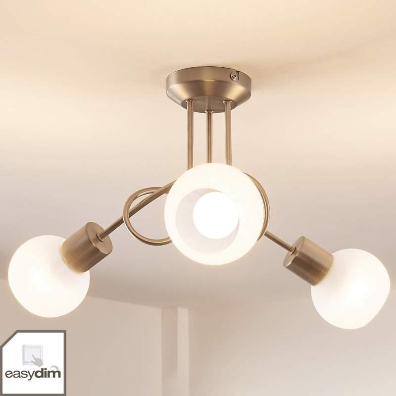 Tanos - LED plafondlamp met 3 easydim lampen