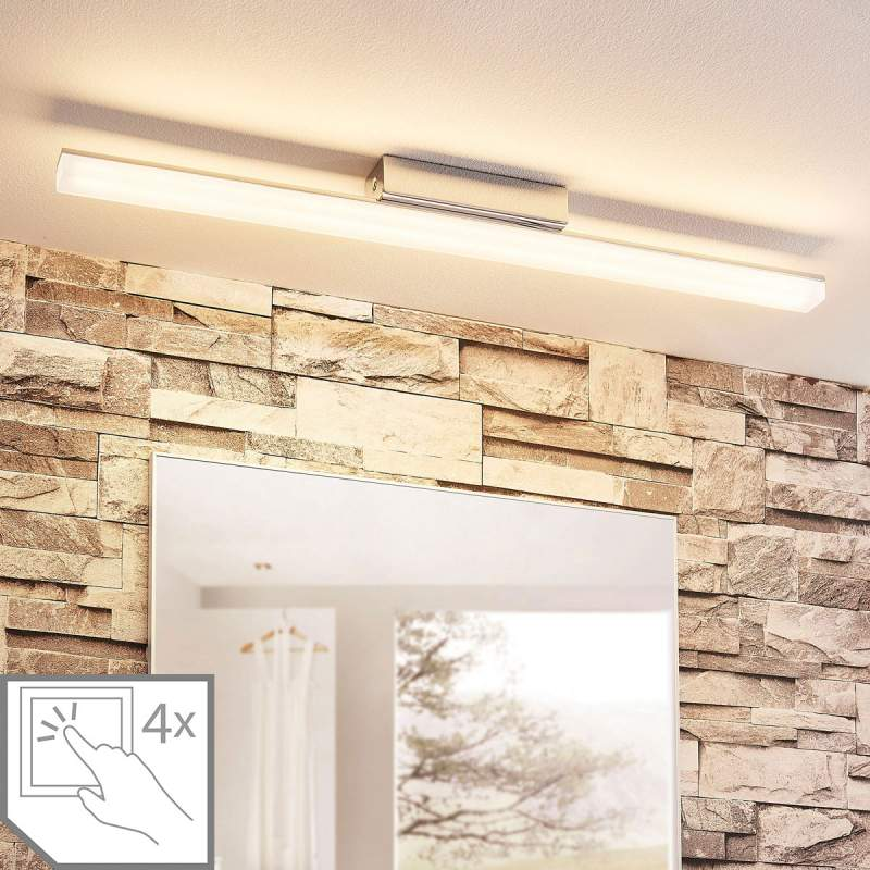 Badkamerplafondlamp Levke met LED's, IP44