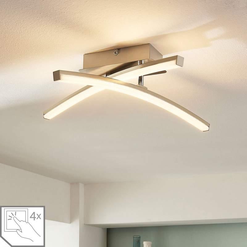 4-staps dimbare LED plafondlamp Laurenzia