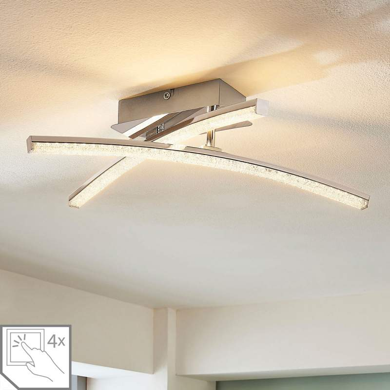 Schuine LED plafondlamp Laurenzia