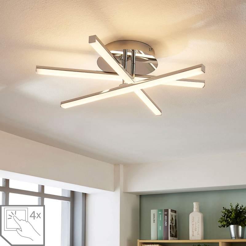 4-staps dimbare LED plafondlamp Korona