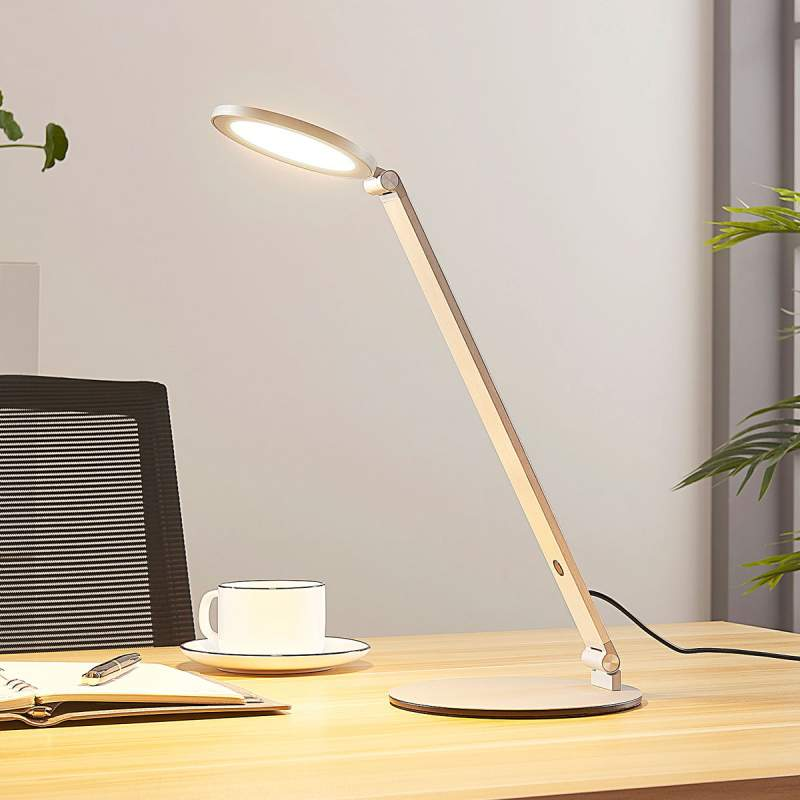 LED bureaulamp Jaivey met touch-dimmer