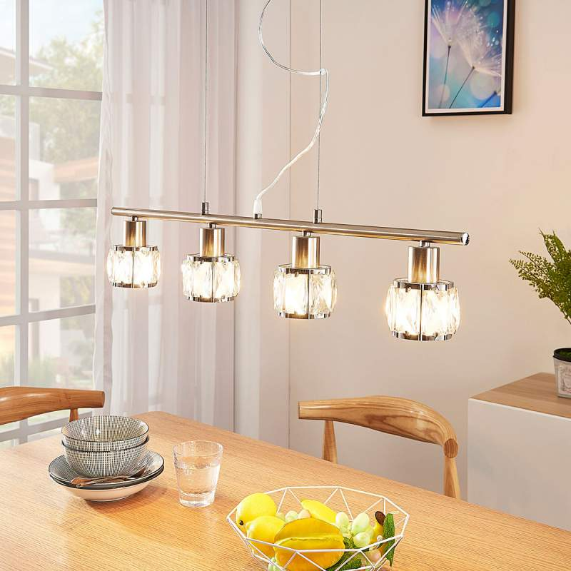 4.lamps eetkamer hanglamp Tanika, LED