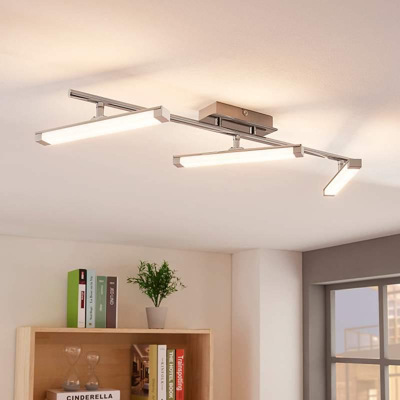 LED plafondlamp Pilou, dimbaar met schakelaar