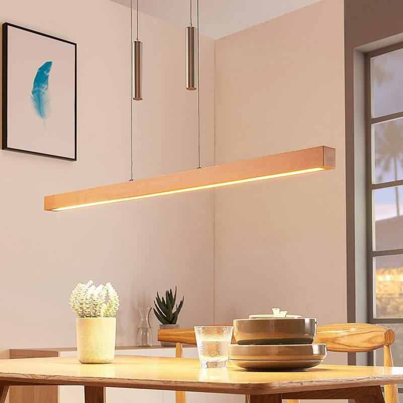 LED balk hanglamp Pia van hout, dimbaar