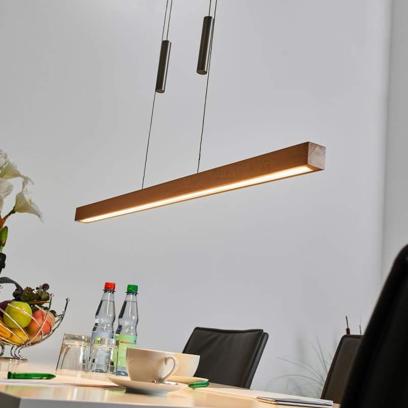 Balk hanglamp Pia van hout met dimbare LED's