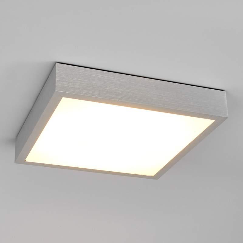 Finnian - hoekige LED-plafondlamp van aluminium