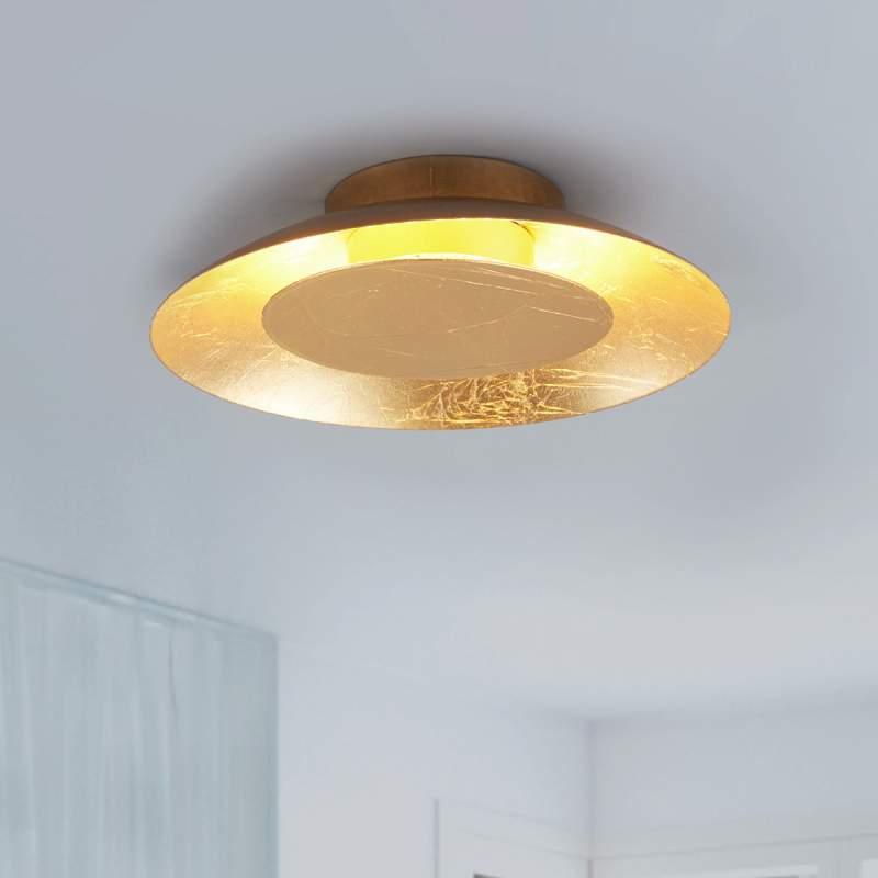 Keti - goudkleurige LED wandlamp
