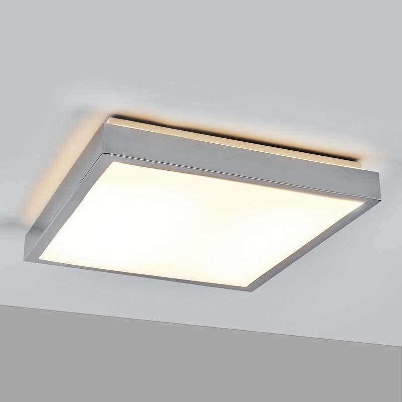 Vierkante LED plafondlamp Edwina