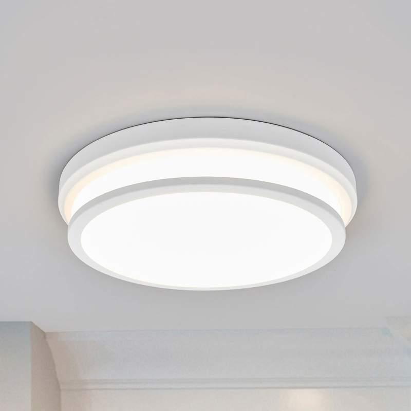 Elisabetta - ronde LED plafondlamp in wit