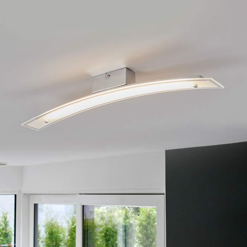 Verchroomde LED plafondlamp Adrienne