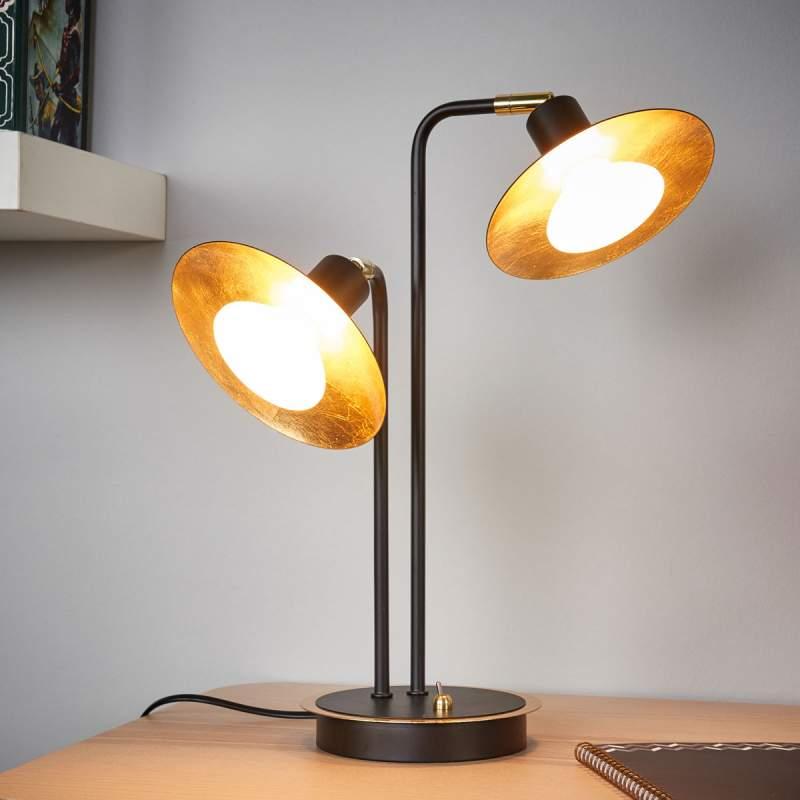 2-lichts led-tafellamp Andrej