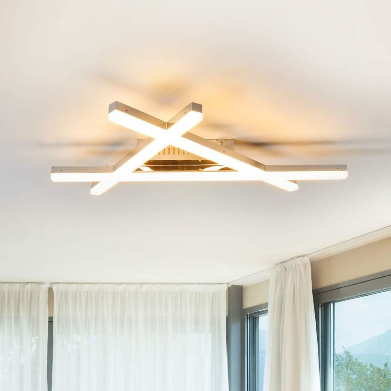 Rechtlijnige LED plafondlamp Roby