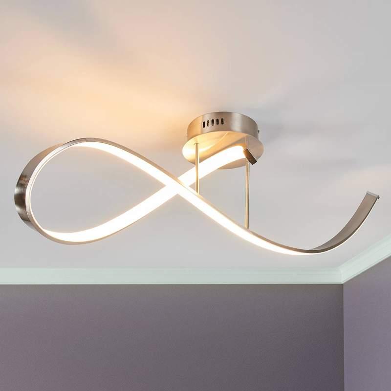 Mooie LED plafondlamp Tiberius