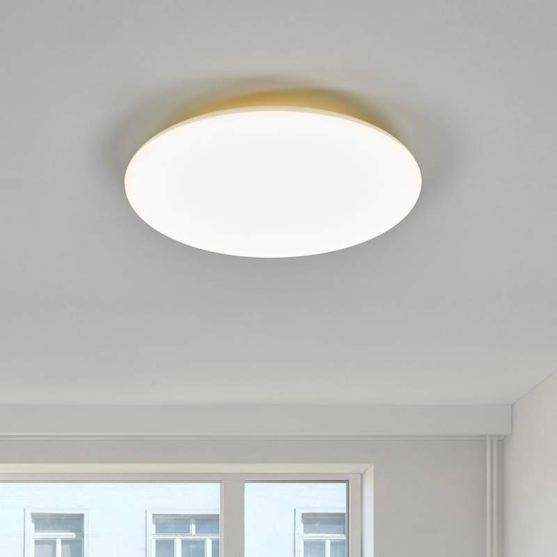 Witte LED plafondlamp Jon, 4.000 K