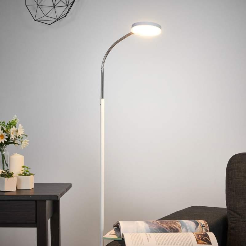 Milow - Led vloerlamp met zwanenhals