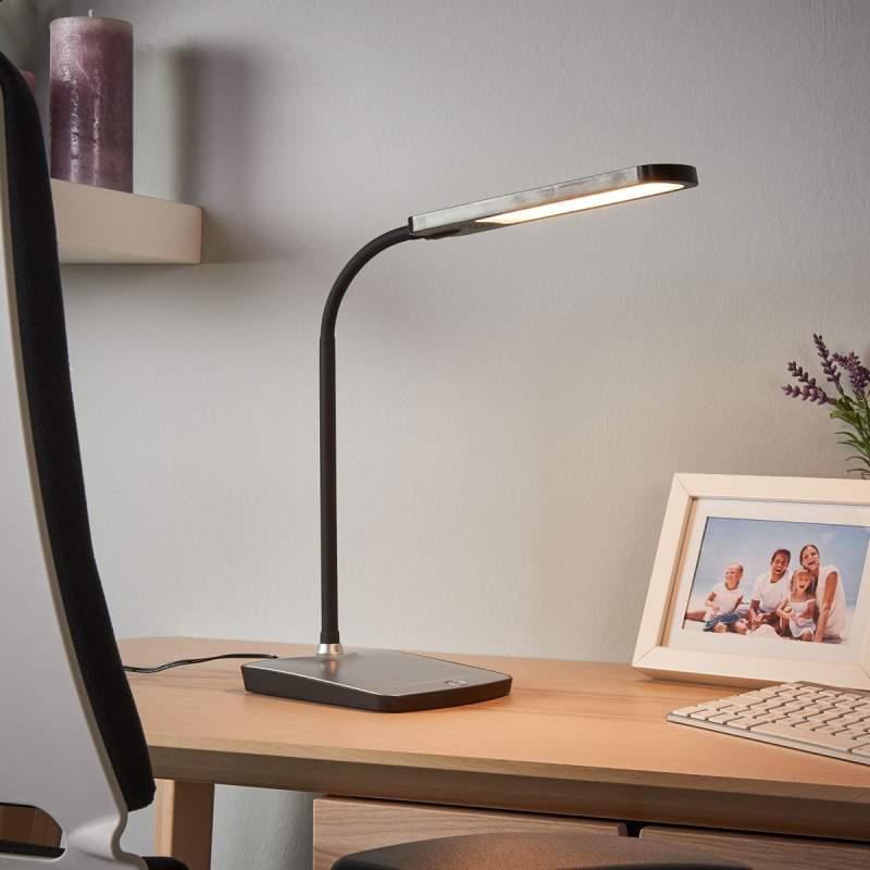 Leoris - Led bureaulamp met USB-poort