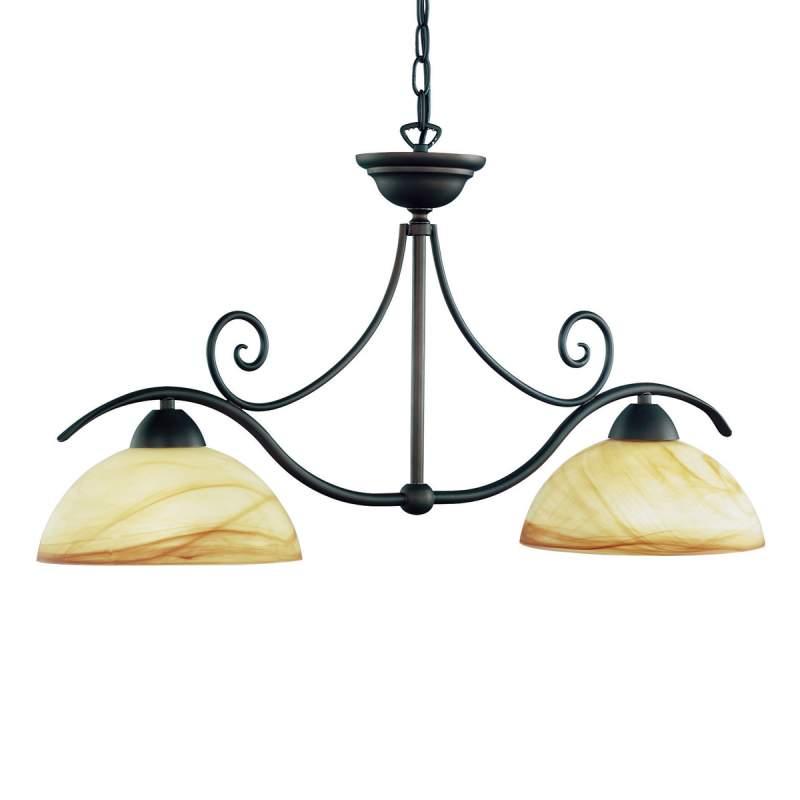 Hanglamp Lacchino, 2-lichts