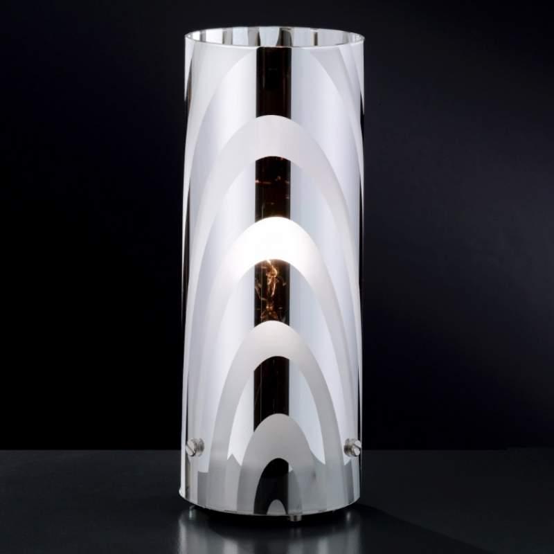 Smaakvolle tafellamp COLLAGE met motief