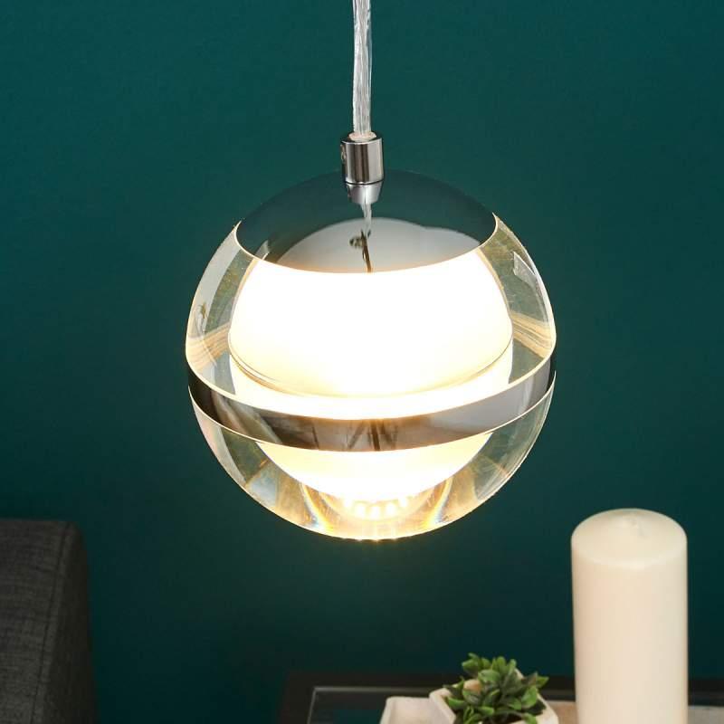 Creatief gevormde LED hanglamp Fulton
