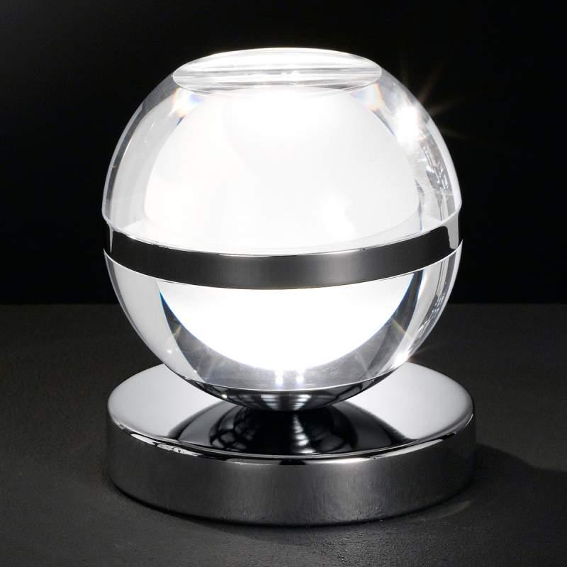 Verchroomde LED tafellamp Fulton