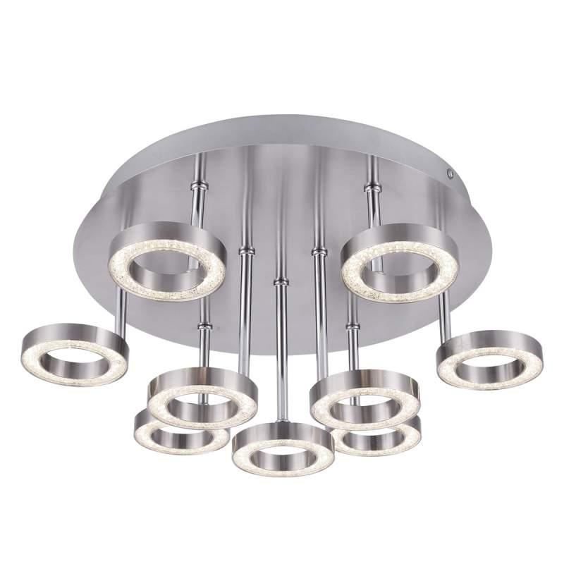 Naomi - briljante LED plafondlamp in ronde vorm