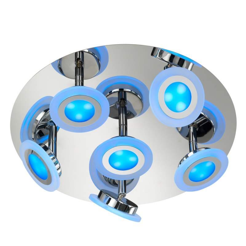 LED plafondlamp Gemma met instelbare lichtkleur