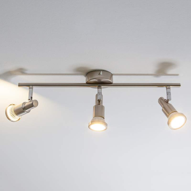 Slanke 3-lichts plafondlamp Aron