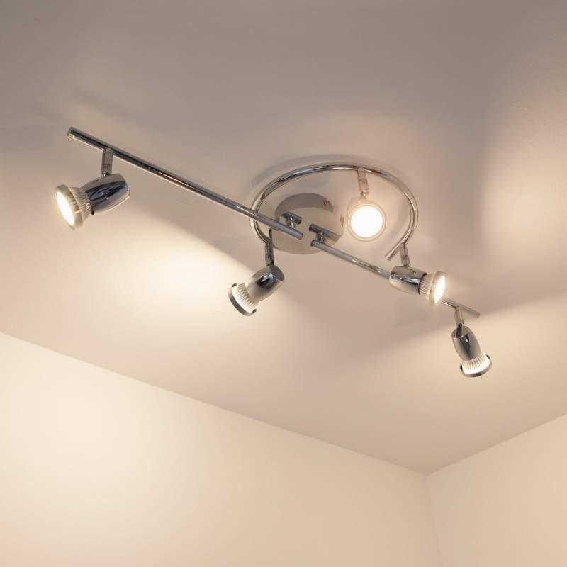 Arminius - 5-lamps LED-plafondlamp
