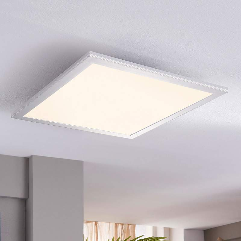 Vierkante led-plafondlamp Liv, 28 W
