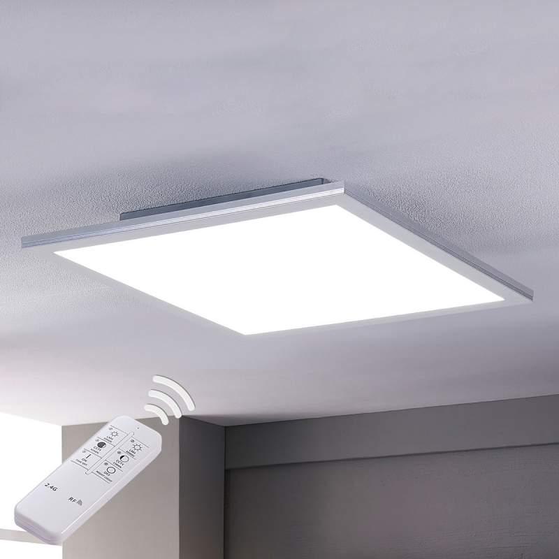 Felle led-plafondlamp Liv, dimbaar